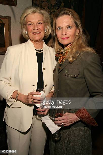 Janie Murray Ann Barish and Patty Lynch attend Ann Barish's Holiday Luncheon at La Grenouille on December 4 2006 in New York City