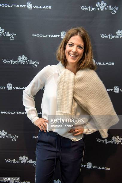 Janika Holzmann attends the Athleisure Popup event and exhibition at Wertheim Village on March 9 2017 in Wertheim Germany The four influencers Daniel...