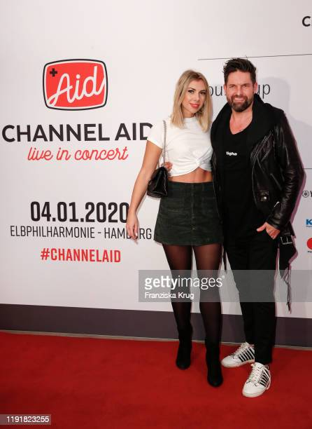 Janika Jaecke and Kai Schwarz during the Channel Aid Live in concert at Elbphilharmonie on January 4 2020 in Hamburg Germany