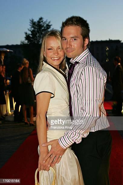 Janin Reinhardt And Sebastian Hoffner In 'Talk @ Night' in the margins Ewerk The IFA in Berlin at 010905