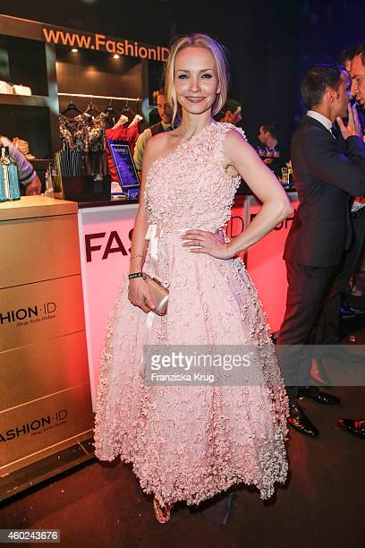 Janin Reinhardt attends the Bambi Awards 2014 after show party on November 14 2014 in Berlin Germany