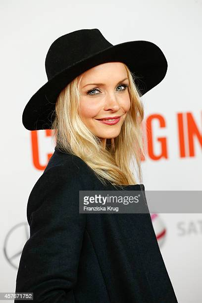 Janin Reinhardt attends the 'Coming In' Premiere in Berlin on October 22 2014 in Berlin Germany