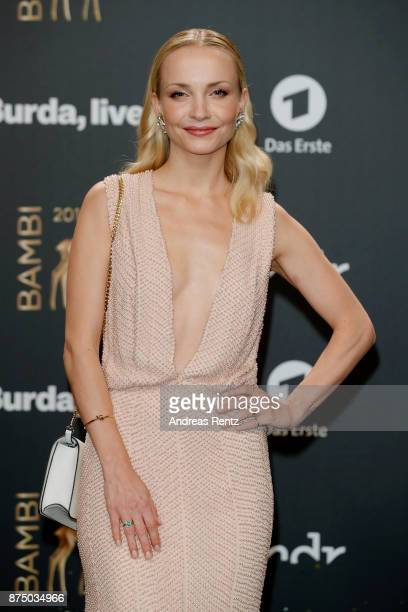 Janin Ullmann arrives at the Bambi Awards 2017 at Stage Theater on November 16 2017 in Berlin Germany