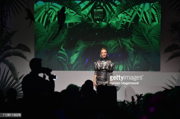 Janin Ullmann at the Glammy Award on February 07 2019 in Munich Germany