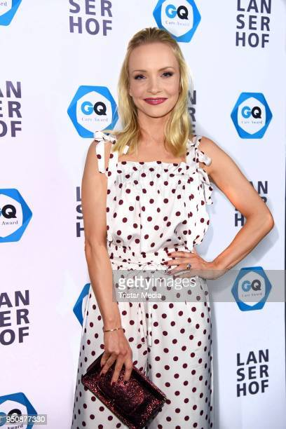 Janin Ullmann attends the GQ Care Award at on April 24 2018 in Berlin Germany