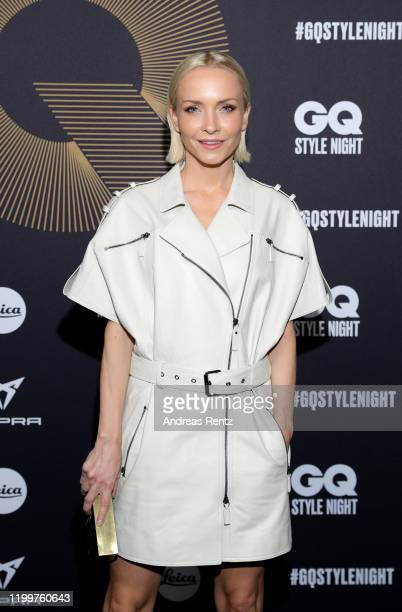 Janin Ullmann attends the GQ Style Night during Berlin Fashion Week Autumn/Winter 2020 at BRICKS Berlin on January 15, 2020 in Berlin, Germany.