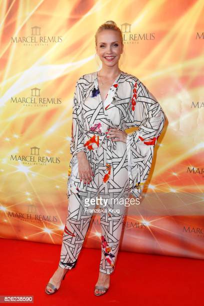 Janin Ullmann attends the Remus Lifestyle Night on August 3 2017 in Palma de Mallorca Spain