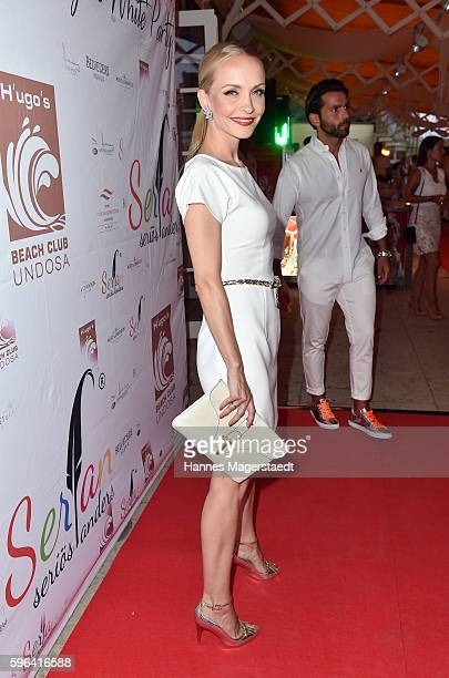 Janin Ullmann during the Serfan fashion show night on August 27 2016 in Starnberg Germany