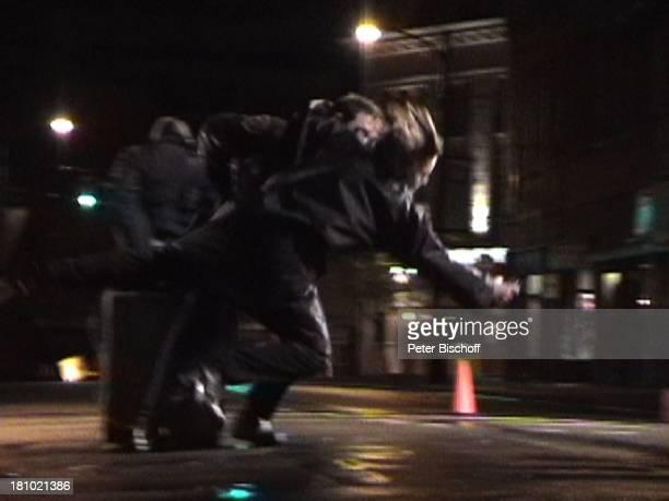 Janina Dall Szenenfoto John Doe Tackle 020103 Stunt Stuntfrau Stuntman Kampf kämpfenPNr 009/03/