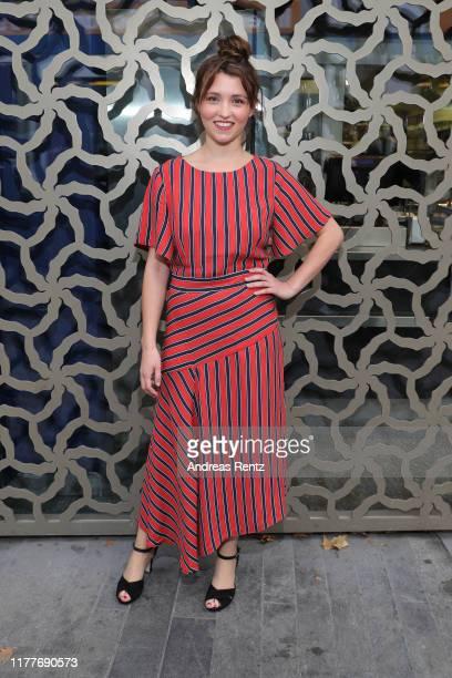 Janina Fautz attends the Der Preis der Freiheit premiere during the 15th Zurich Film Festival at Kino Corso on September 28 2019 in Zurich Switzerland