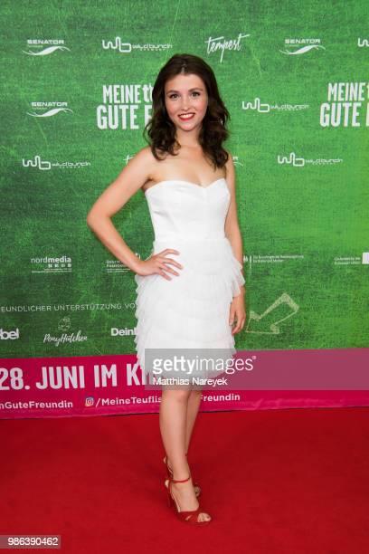 Janina Fautz attends the 'Meine teuflisch gute Freundin' Premiere at Cinemaxx on June 28 2018 in Berlin Germany