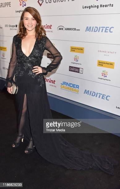Janina Fautz during the 11th Laughing Hearts Charity Gala at Grand Hyatt Hotel on November 9, 2019 in Berlin, Germany.