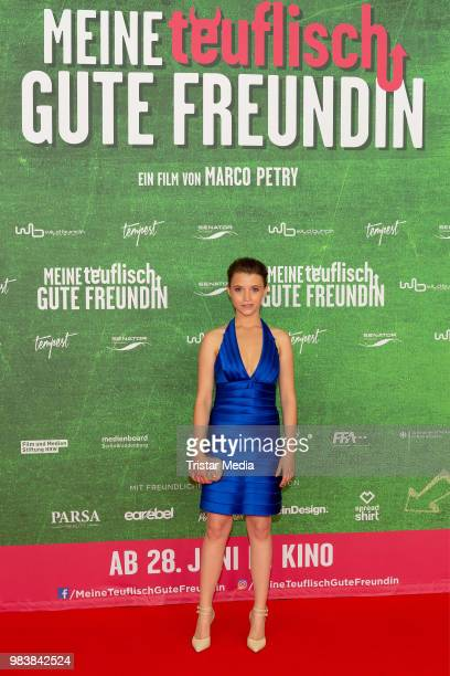 Janina Fautz during the premiere 'Meine teuflisch gute Freundin' on June 25 2018 in Cologne Germany