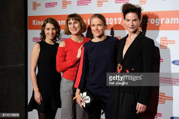 Janina Fautz Melanie Andernach Isabel Prahl and Bibiana Beglau attend the 27th Kinoprogrammpreis NRW at Gloria Theatre on November 14 2017 in Cologne...