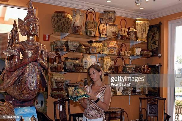 Janina Flieger Dreharbeiten zum ZDFFilm FloridaTräume Fort Myers USA Amerika PNr 1075/2005 Schauspielerin Promi ExklusivFoto ExklusivReportage...
