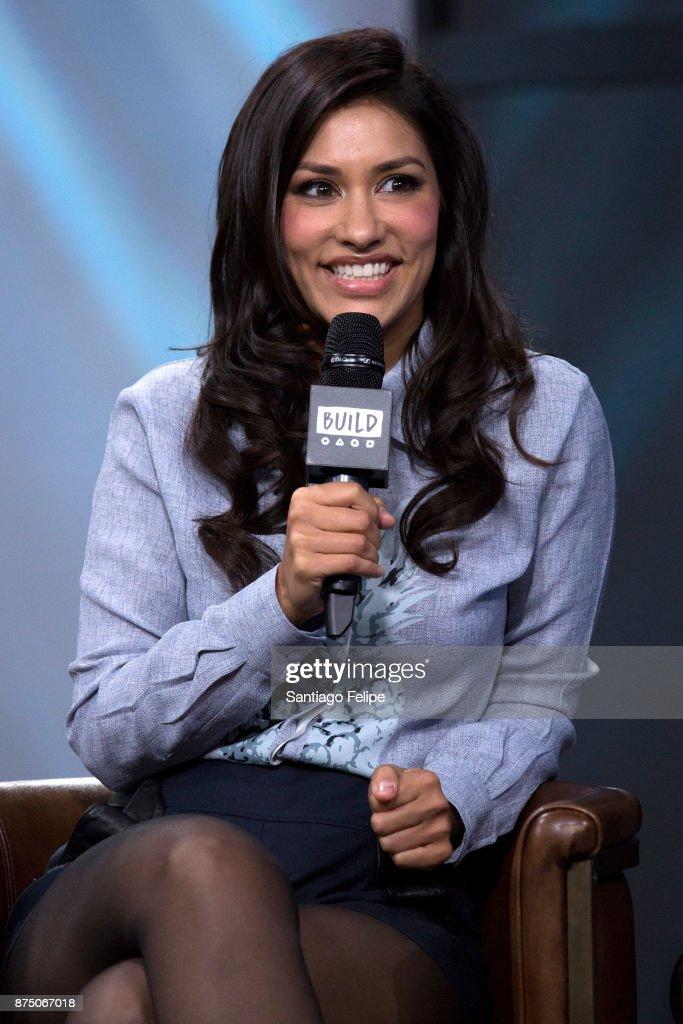 Janina Gavankar attends Build Presents to discuss 'Star Wars: Battlefront II' at Build Studio on November 16, 2017 in New York City.
