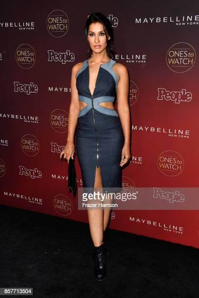 Janina Gavankar attends People's 'Ones To Watch' at NeueHouse Hollywood on October 4 2017 in Los Angeles California