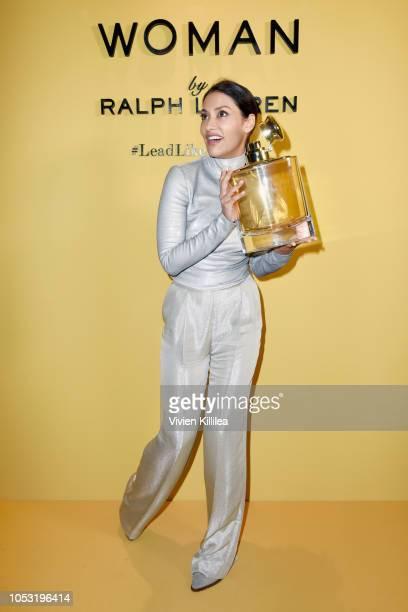 Janina Gavankar attends Ralph Lauren Fragrances x Women In Film Sisterhood Of Leaders Event on October 24 2018 in Beverly Hills California