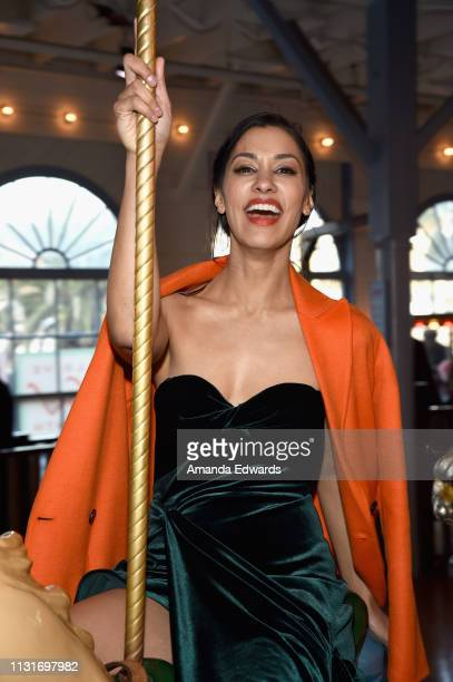 Janina Gavankar attends the 2019 Film Independent Spirit Awards after party on February 23 2019 in Santa Monica California