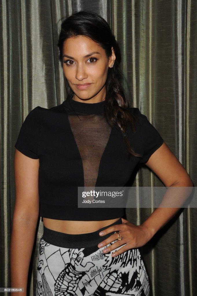 Janina Gavankar attends the 43rd Annual Saturn Awards at The Castaway on June 28, 2017 in Burbank, California.