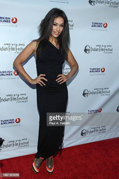 Janina Gavankar attends the Indian Film Festival Of Los Angeles Opening Night Gala For 'Gangs Of Wasseypur' on April 9 2013 in Hollywood California