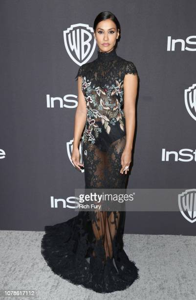 Janina Gavankar attends the InStyle And Warner Bros Golden Globes After Party 2019 at The Beverly Hilton Hotel on January 6 2019 in Beverly Hills...
