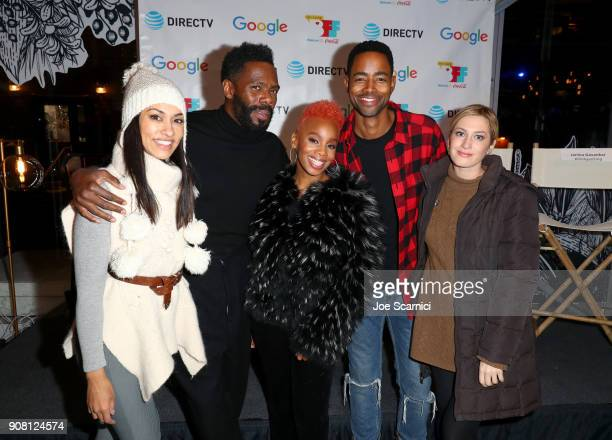 Janina Gavankar of Blindspotting Colman Domingo of Assassination Nation Anika Noni Rose of Assassination Nation Jay Ellis of A Boy A Girl A Dream and...