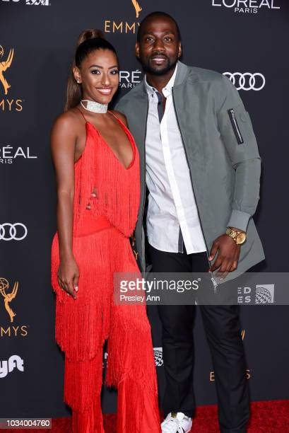 Janina Gordillo and DeStorm Power attend Television Academy Honors Emmy Nominated Performers Arrivals at Wallis Annenberg Center for the Performing...