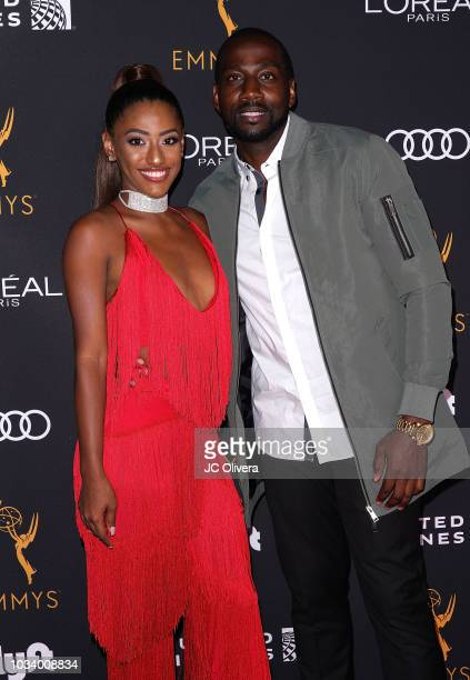 Janina Gordillo and DeStorm Power attend the Television Academy Honors Emmy Nominated Performers at Wallis Annenberg Center for the Performing Arts...