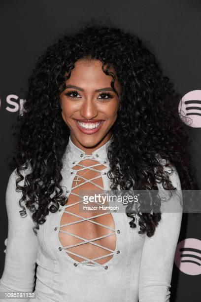 Janina Gordillo attends Spotify Best New Artist 2019 event at Hammer Museum on February 7 2019 in Los Angeles California