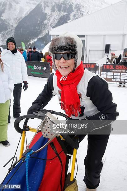 Janina Hartwig attends the Sledge Dog Race Tirol Cross Mountain 2013 on December 07 2013 in Innsbruck Austria