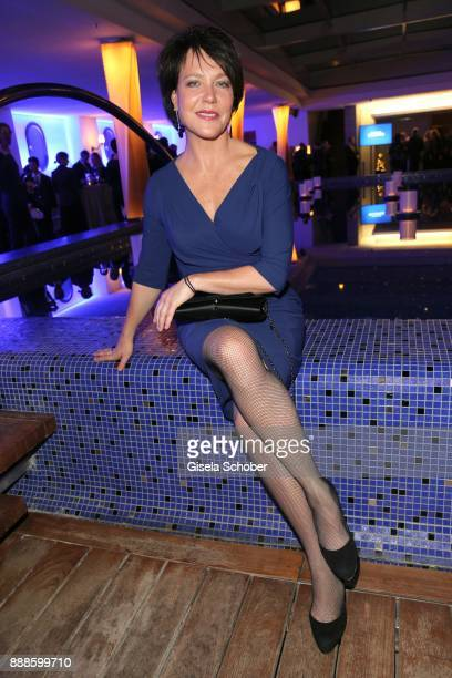 Janina Hartwig during the ARD advent dinner hosted by the program director of the tv station Erstes Deutsches Fernsehen at Hotel Bayerischer Hof on...