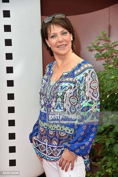 Janina Hartwig during the Bavaria Film reception during the Munich Film Festival 2016 at Kuenstlerhaus am Lenbachplatz on June 28 2016 in Munich...