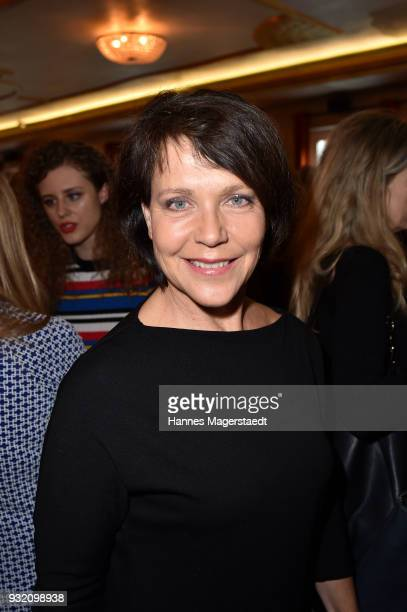Janina Hartwig during the NdF after work press cocktail at Parkcafe on March 14 2018 in Munich Germany