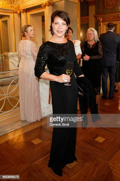 Janina Hartwig during the traditional Buehnendinner 2017 at Bayerische Staatsoper on September 21 2017 in Munich Germany