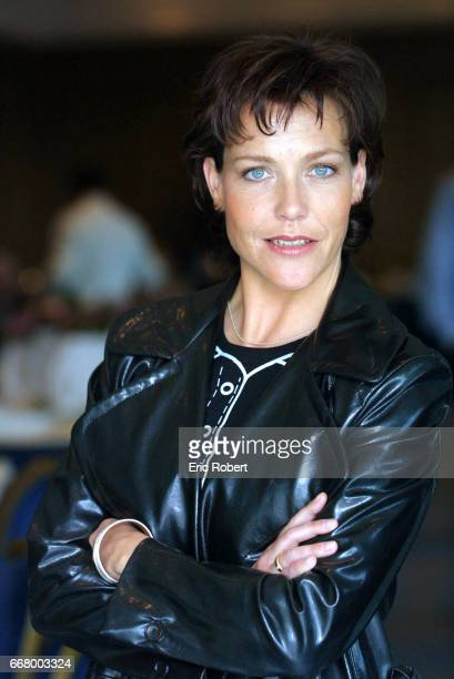 Janina Hell Hartwig actress starring in the TV series 'Le Clan du Bonheur'