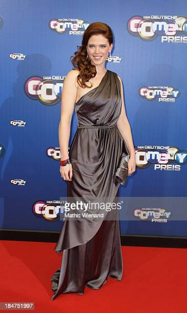 Janina Isabell Batoly attends the 17th Annual of the German Comedy Awards at Coloneum on October 15 2013 in Cologne Germany