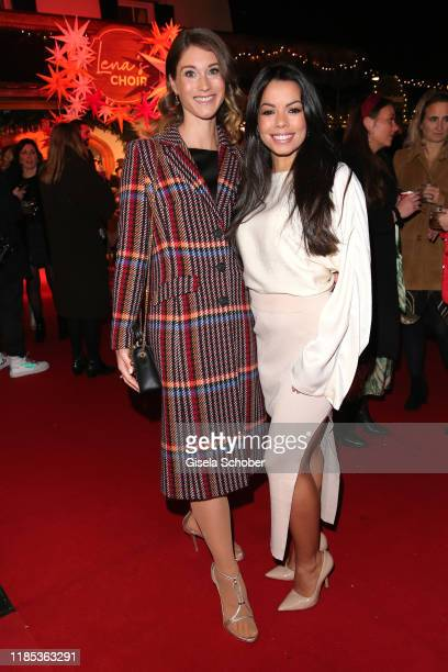 Janina Lin Otto and Fernanda Brandao at the Lena Gercke x ABOUT YOU Christmas Dinner and Party at Hotel Stanglwirt on November 28 2019 in Going near...