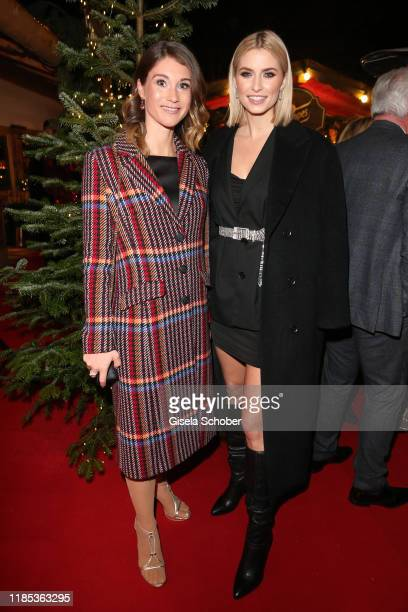 Janina Lin Otto and Lena Gercke at the Lena Gercke x ABOUT YOU Christmas Dinner and Party at Hotel Stanglwirt on November 28 2019 in Going near...