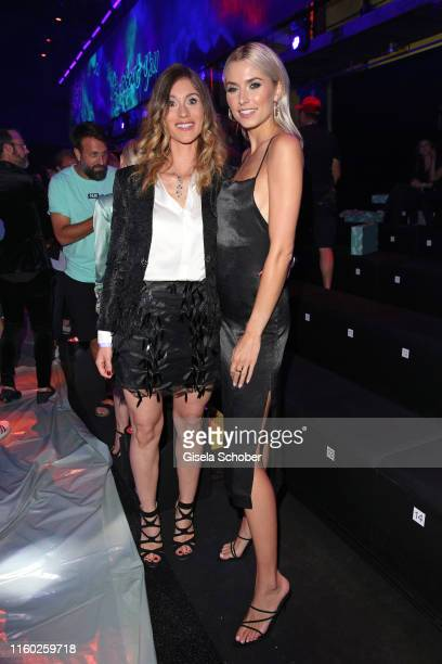 Janina Lin Otto and Lena Gercke attend the opening show of the AYFW About You Fashion Week at ewerk on July 05 2019 in Berlin Germany