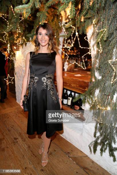 Janina Lin Otto at the Lena Gercke x ABOUT YOU Christmas Dinner and Party at Hotel Stanglwirt on November 28 2019 in Going near Kitzbuehel Austria