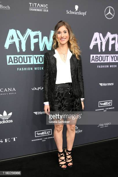Janina Lin Otto attends the opening show of the AYFW About You Fashion Week at ewerk on July 05 2019 in Berlin Germany