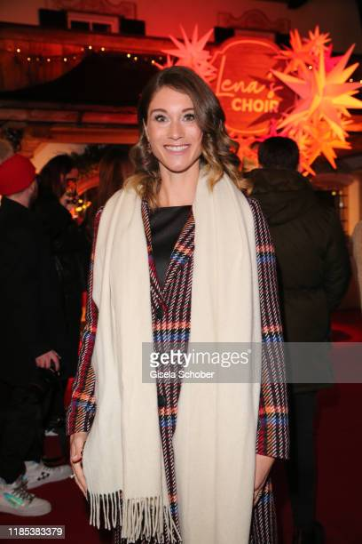 Janina Lin Otto wife of Benjamin Otto at the Lena Gercke x ABOUT YOU Christmas Dinner and Party at Hotel Stanglwirt on November 28 2019 in Going near...
