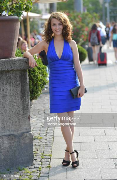Janina Naomi Fautz during the Bavaria Film reception during the Munich Film Festival 2018 at Kuenstlerhaus am Lenbachplatz on July 3 2017 in Munich...