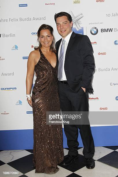 Janina Nottensteiner And Brother Felix Nottensteiner at the 10th Anniversary Of The Felix Burda Award at Hotel Adlon in Berlin