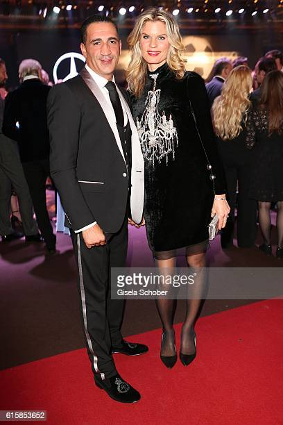 Janina OezenOtto and her husband Ismail Oezen during the Tribute To Bambi at Station on October 6 2016 in Berlin Germany