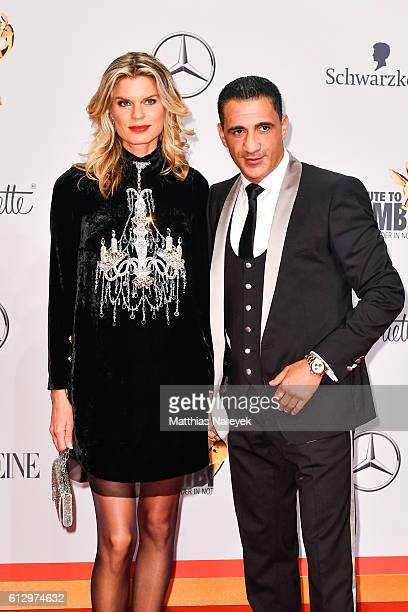 Janina OezenOtto and Ismail Oezen attend the Tribute To Bambi at Station on October 6 2016 in Berlin Germany