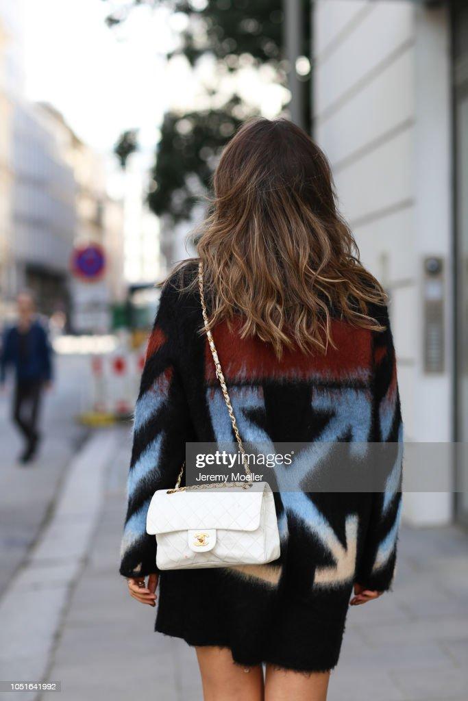 Street Style - Hamburg - October 08, 2018 : News Photo