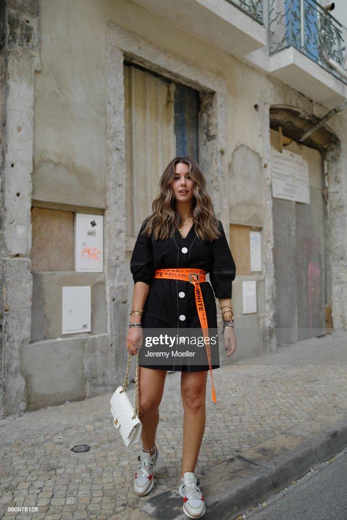 Street Style In Lisbon - June 18, 2018 : News Photo