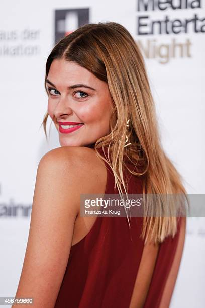 Janina Schmidt attends the Media Entertainment Night 2014 at Atlantik Hotel on October 06 2014 in Hamburg Germany